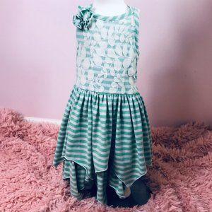 Isobella & Chloe sz4 striped Summer dress